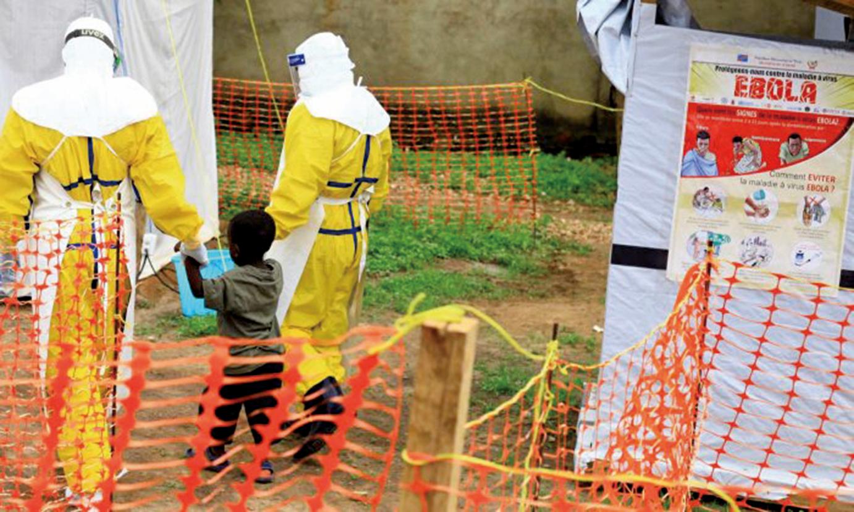 世界衛生組織表示,目前在剛果民主共和國爆發的伊波拉病毒疫情是伊波拉疫情爆發史上的第二大疫情。(Al-hadji Kudra Maliro/AP)