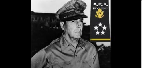 道格拉斯.麥克阿瑟(Douglas MacArthur)為美國五星上將