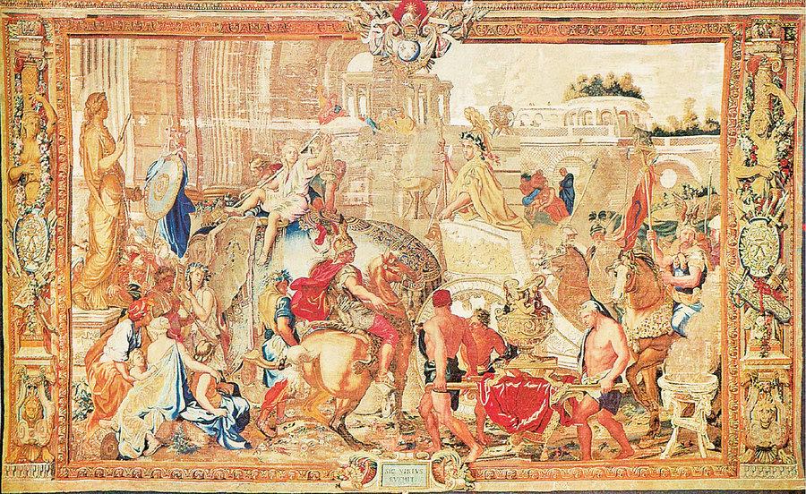 法國國寶級工藝 戈布蘭掛毯及家具廠(上)
