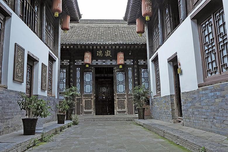 西安的高家大院,七世官宅,屬三院四進式磚木結構四合院,其主體是明崇禎年間的建築。(大紀元資料室)