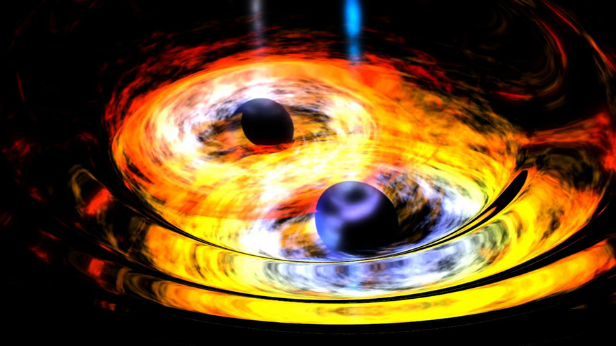 科學家利用引力波發現史上最大黑洞碰撞