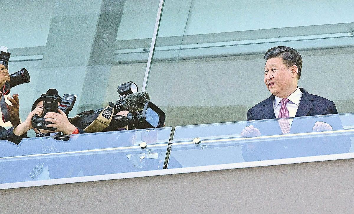 12月3日,習近平在巴拿馬訪問。(Getty Images)