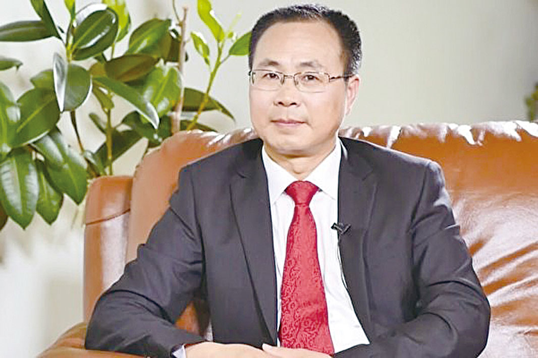 前中共政治局常委、中紀委書記尉健行的撰稿人王友群博士。(本人提供)