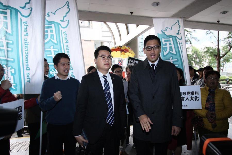 尹兆堅林卓廷否認控罪 明年1月再訊