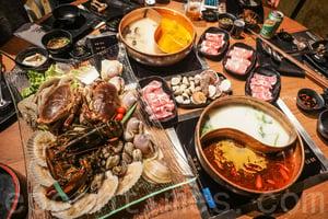 【米芝Gi周記】一次過享用海鮮火鍋及自助餐
