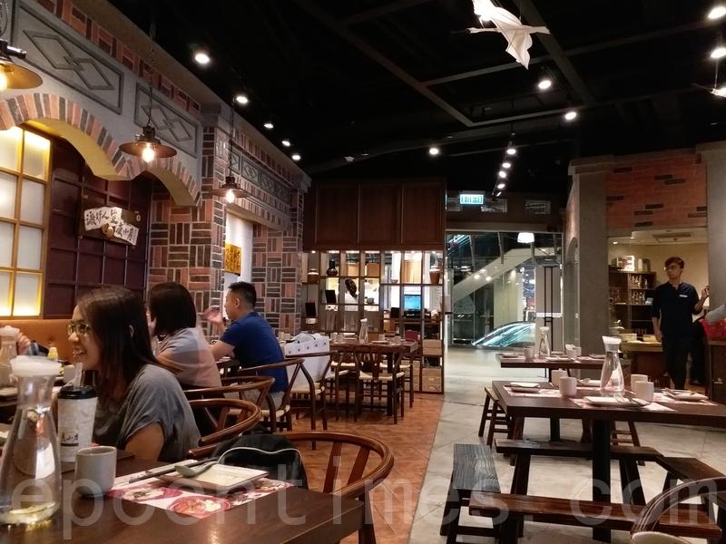 餐館內依照台灣傳統裝潢。(米芝Gi提供)