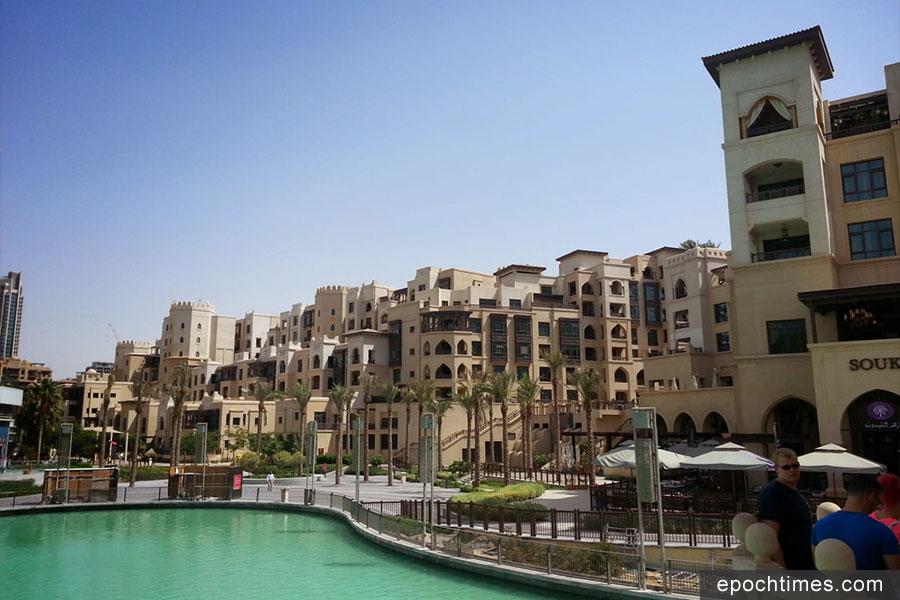 Khamsay遊歷世界各地,圖為杜拜。(受訪者提供)