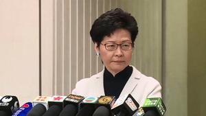 林鄭回應孟晚舟護照未釋疑