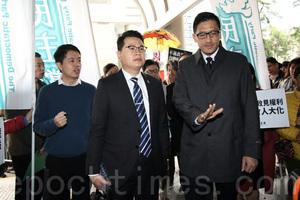 尹兆堅林卓廷否認控罪 明年一月再訊