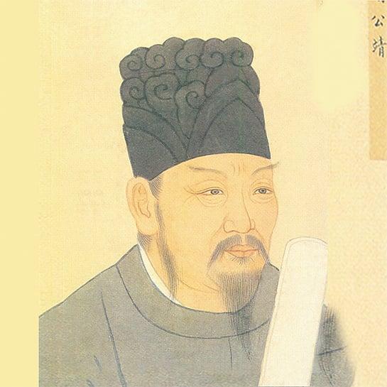 貞觀3年,大將李靖統率大軍10萬,出擊突厥。圖為李靖的廟宇壁像。(Anandajoti _ 維基百科)