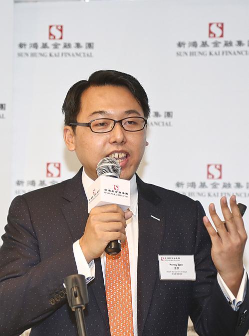 新鴻基金融財富管理策略師溫傑預計,A股納入MSCI新興市場指數的機會有六至七成。(余鋼/大紀元)