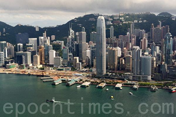 國際貨幣基金組織(IMF)預料香港今年經濟增長達3.8%,明年會放緩到 2.9%。(大紀元資料圖片)