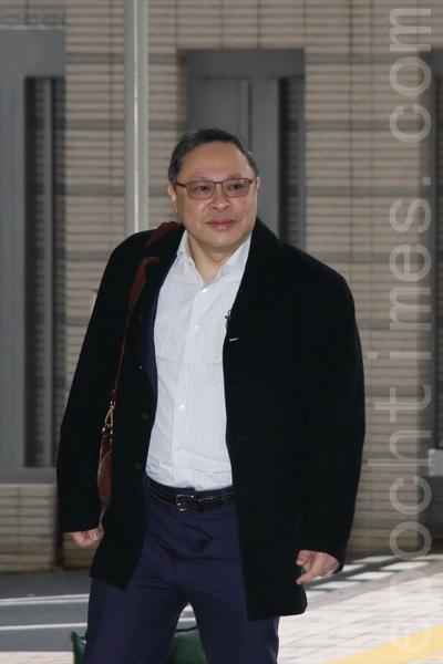 戴耀廷昨日放棄由律師代表,親自作結案陳詞。(蔡雯文/大紀元)