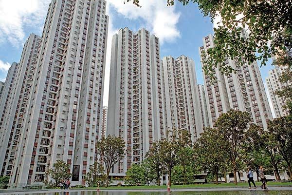 國際貨幣基金組織指明年香港樓市可能開始降溫。圖為位於港島東的太古城。(大紀元圖片庫)