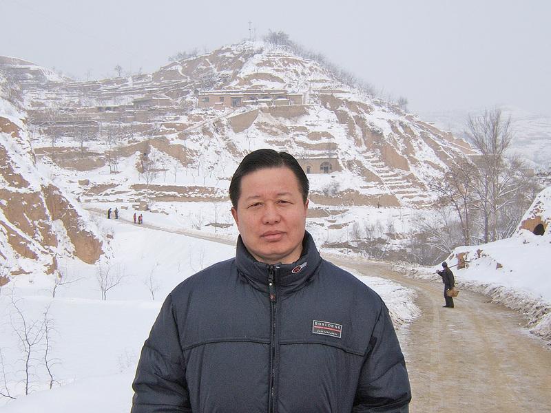 著名人權律師高智晟自2014年出獄後一直被軟禁在陝西家鄉居住處。(網絡圖片)