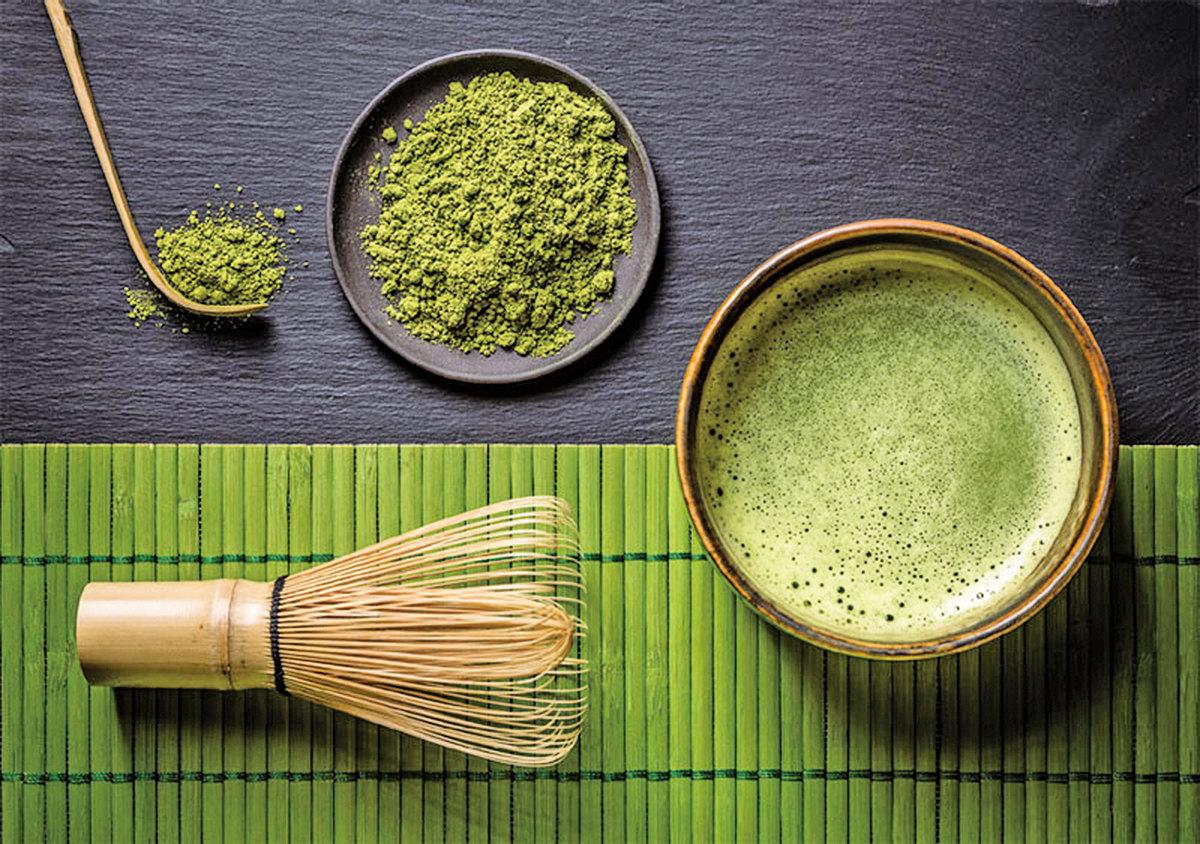 抹茶所需茶具:茶匙、茶碗、茶筅等。(Fotolia)
