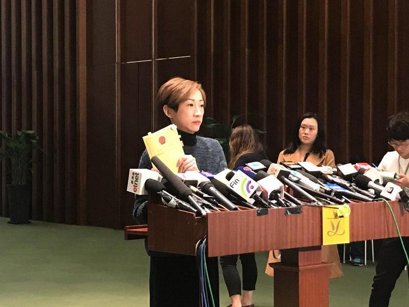 陳淑莊:一地兩檢被裁定合憲 輸了基本法