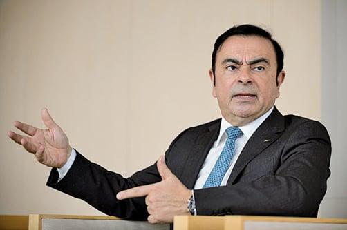 日產汽車公司董事長卡洛斯戈恩(Carlos Ghosn)因違反《金融商品交易法》,隱瞞真實收入,目前正在接受檢察機關的調查。(Getty Images)