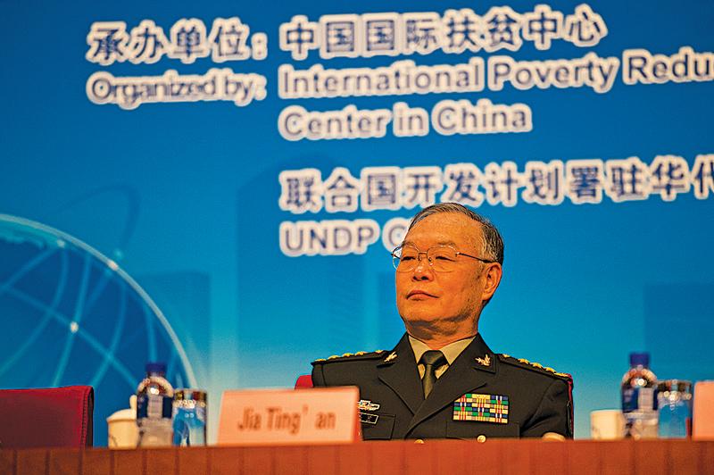 傳賈廷安去年11月被停職,被押送到二炮休養院審查;賈被指控犯「五大違紀、三大違法」。(大紀元資料室)