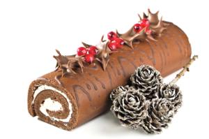 經典聖誕蛋糕:法國木幹蛋糕