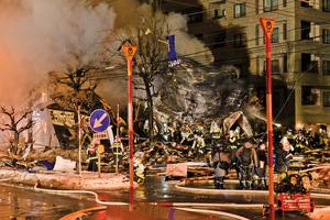 日本北海道札幌驚天爆炸42傷