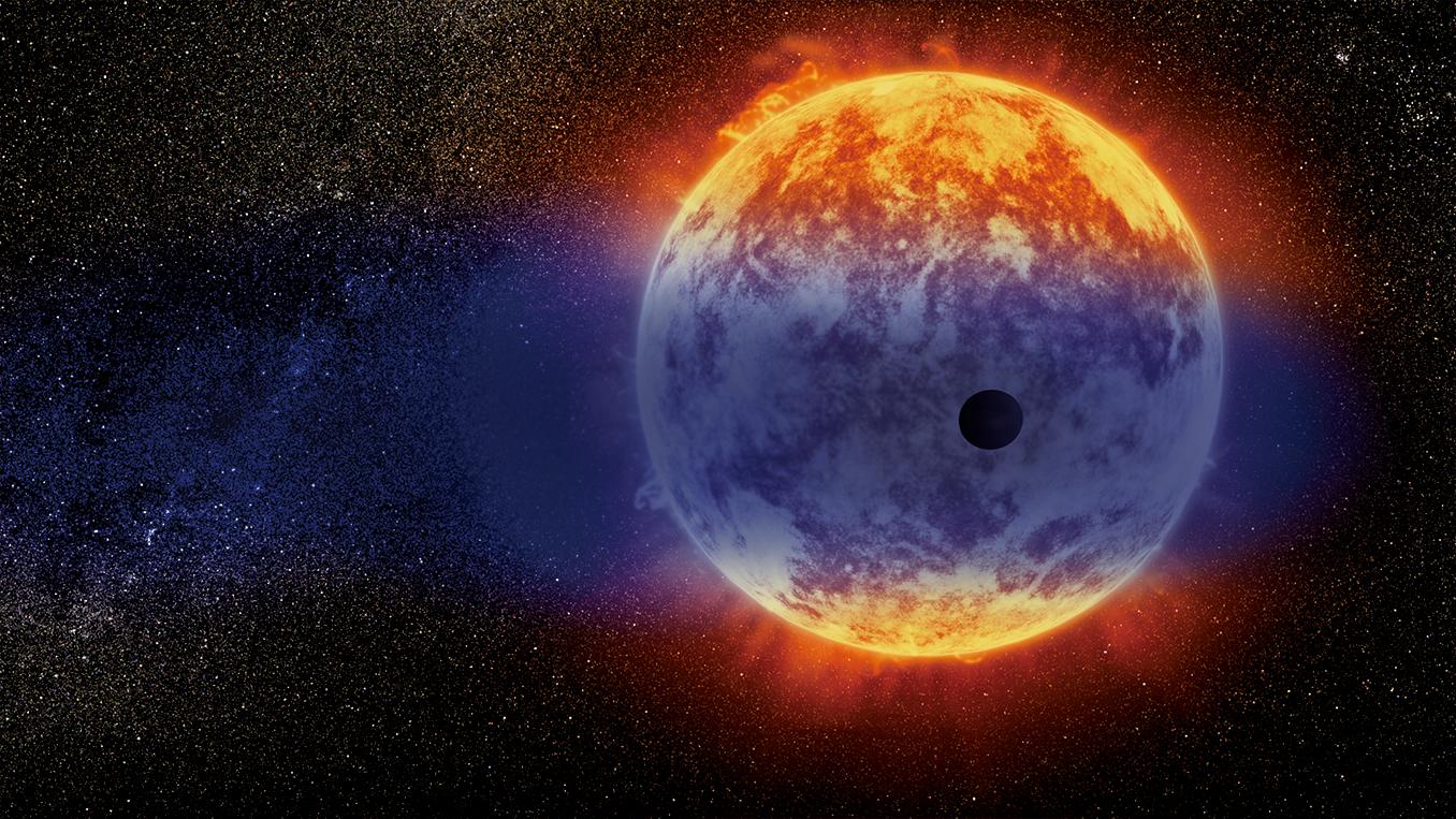 科學家發現中等尺寸的系外行星GJ 3470b正以超快的速度在消失。(NASA)