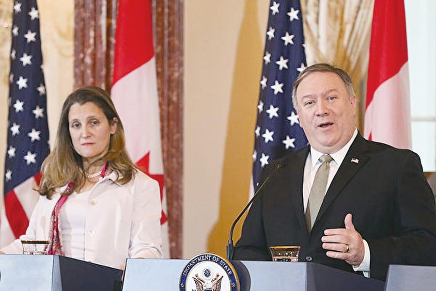 美國表態北京恫嚇加拿大怎收場