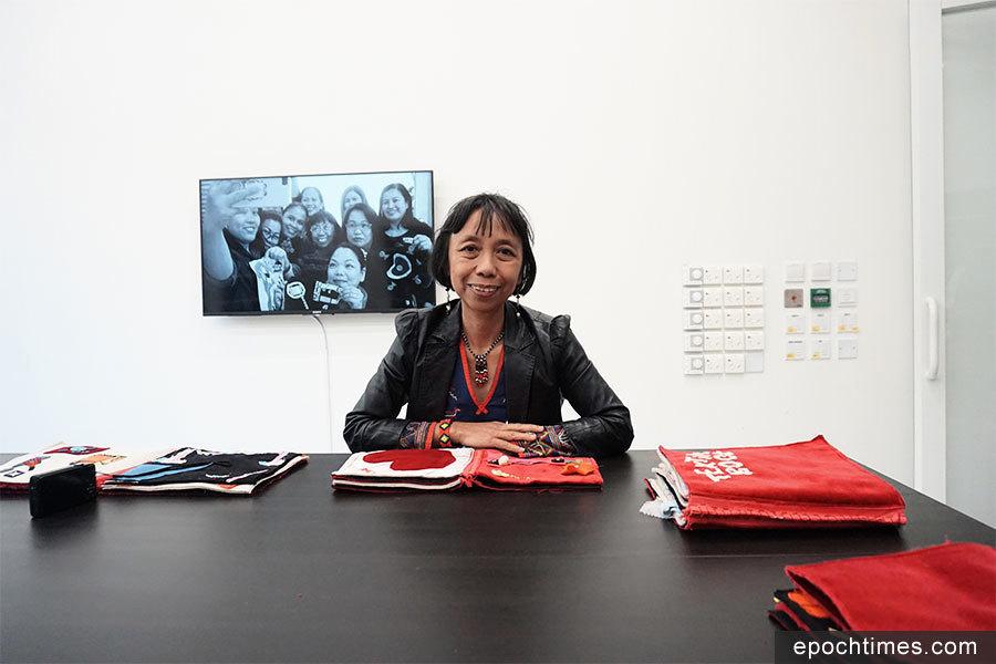紡織工作坊 菲文化工作者助家傭找回自信