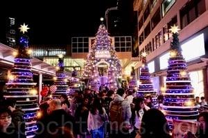 2018香港商場聖誕佈置