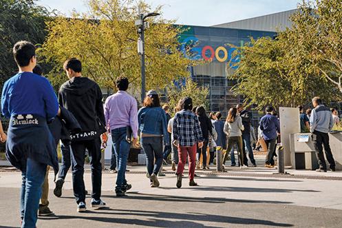 谷歌選中在紐約市打造新園區,預計2020年營運。(Getty Images)