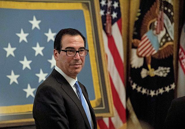 美國財政部長:明年一月 將展開中美貿易談判