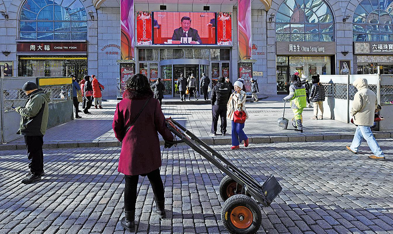 中國國家主席習近平在「改革開放」40周年發表講話,但內容未提及制度性改革,令外界事前期望落空。(Getty Images)