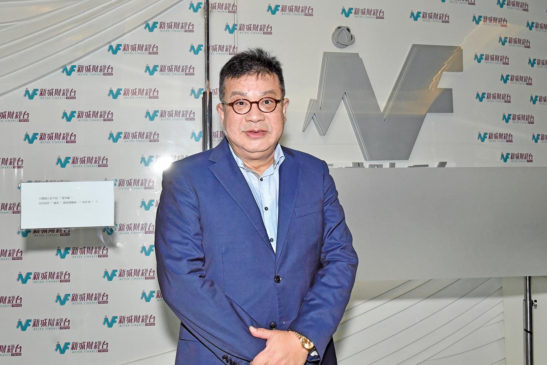 紀惠集團行政總裁湯文亮表示,近期香港樓價下跌主要是受供求關係和貿易戰影響。(郭威利/大紀元)