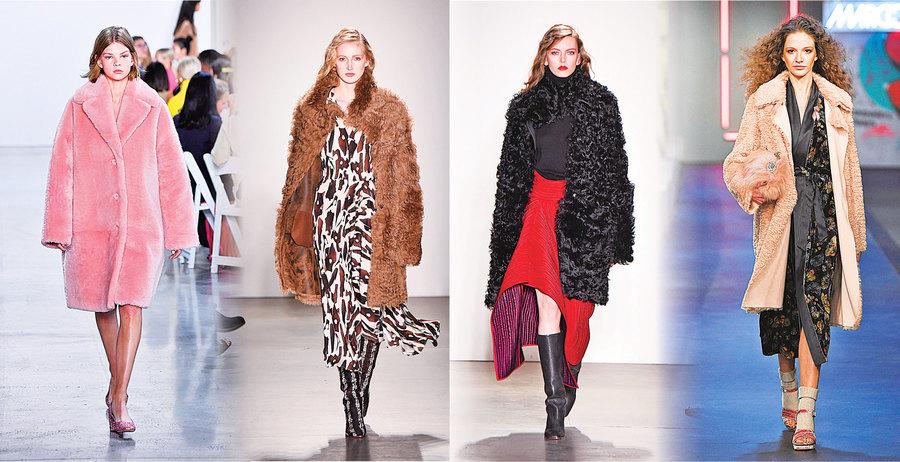 冬季大衣的四款時尚搭配