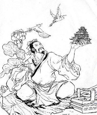魯班造木鳶