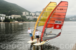 【圖片新聞】風帆隊指里奧賽場 與港相似有優勢
