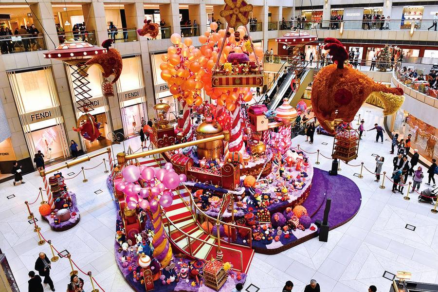 2018聖誕好去處 本港各大商場聖誕裝飾大集合