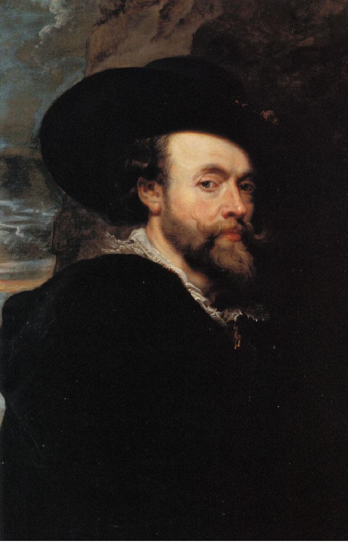 1623年魯本斯(Sir Peter Paul Rubens)《自畫像》(現藏堪培拉澳大利亞國家美術館)。