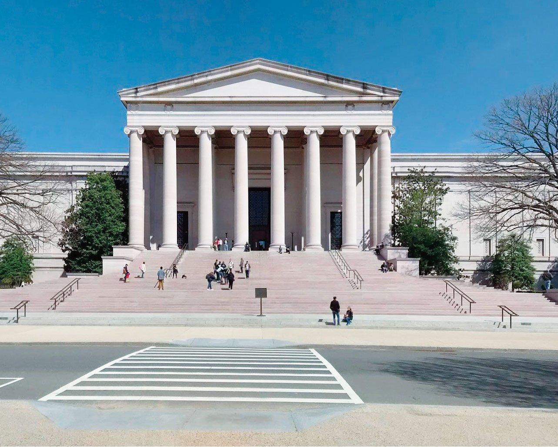 美國首都華盛頓DC國家畫廊。