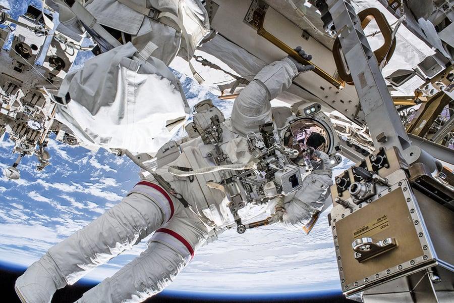空間站漏氣驚魂 太空人安全返回地球