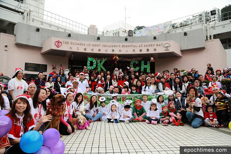 大口環兒童醫院金禧聖誕派對 為病童送上祝福