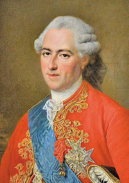 1773年的路易十五,François-Hubert_Drouais繪。(維基公共領域)