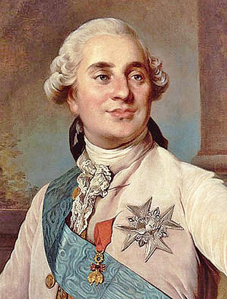 1775年的路易十六國王。(維基公共領域)