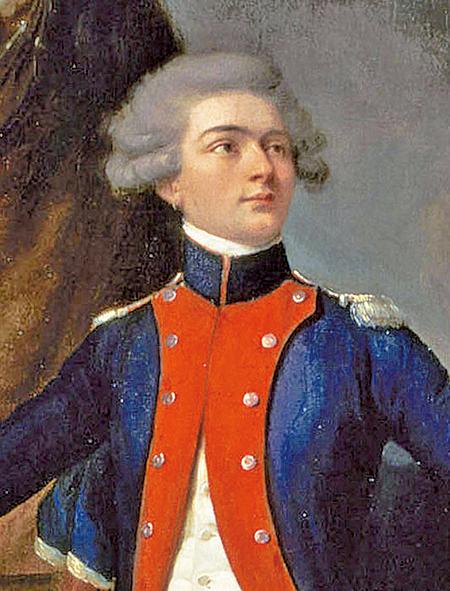 〈拉法耶特將軍畫像〉,Louis-Léopold Boilly繪於1788年,凡爾賽宮收藏。(維基公共領域)