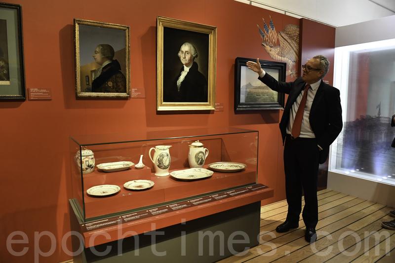 「花旗飄洋」展覽回顧十八世紀中美海上貿易