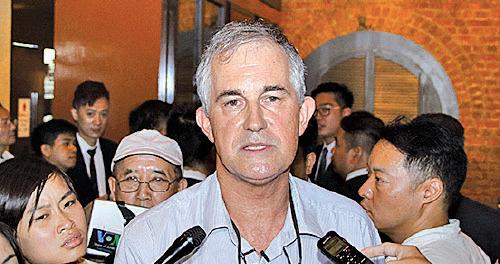 金融時報亞洲編輯馬凱被港府拒續工作簽證,各界批評損害香港法治。(大紀元資料圖片)