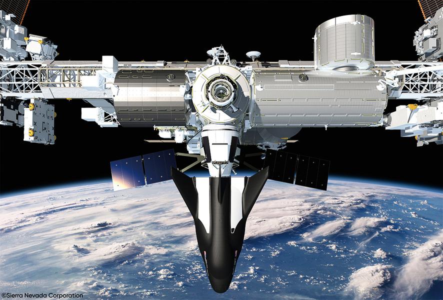 「追夢者」獲准為國際 空間站提供貨運服務