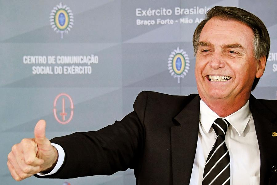 蓬佩奧訪巴西新總統談結盟抗共