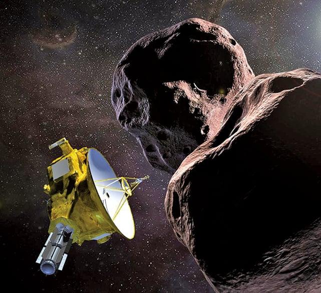 新年首日 NASA飛船將抵太陽系「天涯海角」