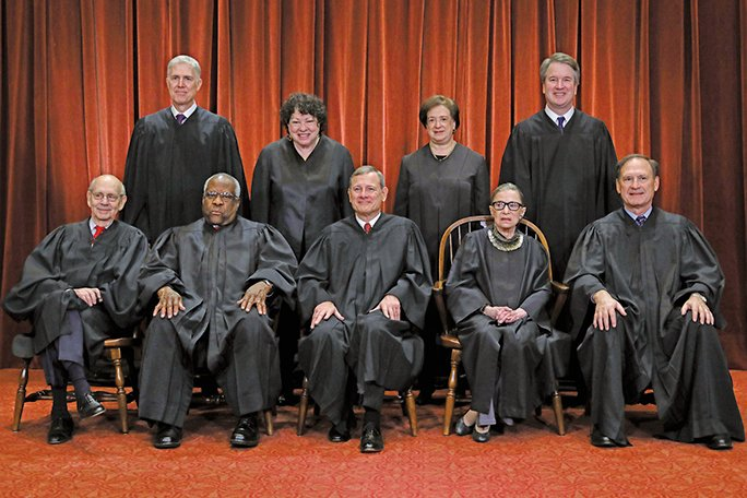 2019年將是美最高法院 歷史性一年
